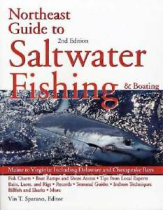 Northeast Guide to Saltwater Fishing and Boating Paperback GOOD