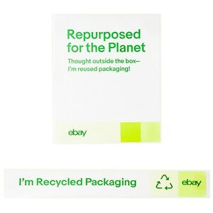 Recycled Packaging Stickers – 100 Pack $14.44