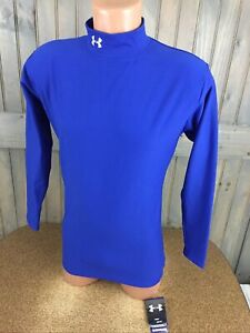 Under Armour Cold Gear Shirt Long Sleeve Compression Mock Turtle Neck XL NWT $29.99