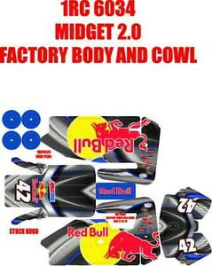 1RC MIDGET WRAP RED ARMOUR DRINK THEME $20.00