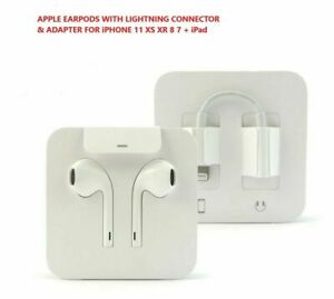 Original Apple Earpods Headset w Lightning Connector for iPhone X 8 7 Max Plus $17.95