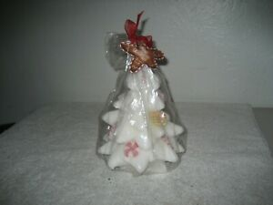 White Christmas tree Scented Wax Candle 9#x27;#x27; $26.99