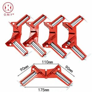 OMY 4pcs Style 90 Degrees Clamp Right Woodworking Frame Clamp DIY Glass… $44.65