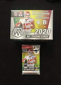 2020 Mosaic Football Blaster Pack 1 🔥 Possible Burrow Tua Auto Rookie🔥