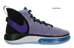 Nike Mens quot;Alphadunkquot; Voltage Purple Basketball Shoes Multiple Size New $64.99