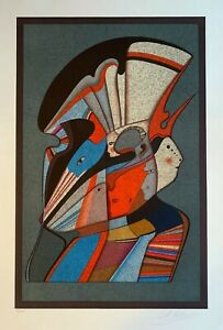 MIHAIL CHEMIAKIN quot;Metaphysical Urkaquot; Original Limited Ed. Lithograph Signed COA $1900.00