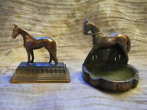 Gladys Brown Edwards DODGE English Thoroughbred metal Horses small 2 $44.00
