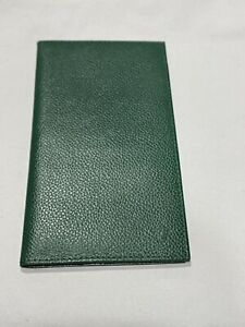 Green Leather Rolex Notepad