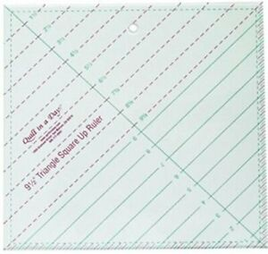 Quilt In A Day Triangle Square Up Ruler 9 1 2x9 1 2 $20.80