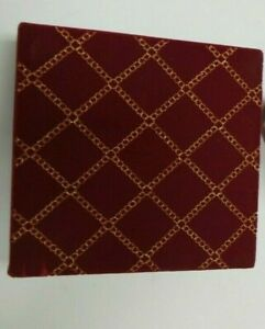 Lot of 3 Christmas Boxes Dillards Satin quilted box Red Plaid cylinder boxes $5.99