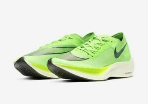 Nike ZoomX VaporFly NEXT% Mens Running Shoes Green $217.00