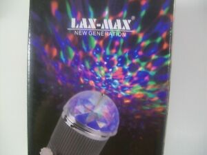 Christmas Stage Light LAX MAX New Generation LED180 Degree Rotating Dome $15.99
