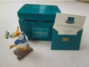 """Disney Collections """"Donald's Debut """"from quot;The Wise Little Henquot; New in Box $49.00"""