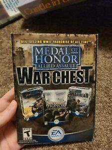 Metal Of Honor Allied Assault War Chest PC Games All 5 Discs $10.99