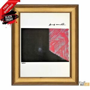Shadow IV by Andy Warhol Original Hand Signed Print with COA $90.99