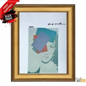 Paloma Picasso by Andy Warhol Original Hand Signed Print with COA $115.99