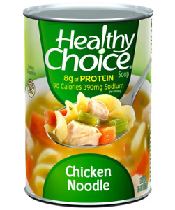 Healthy Choice Chicken Noodle Soup 15 Ounce Cans Pack of 12 $28.90