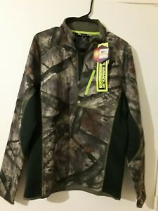 Under Armour Camo Hunting Jacket Cold Gear Infrared SM Loose $38.99