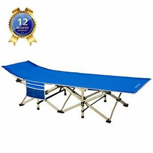 DRMOIS Camping cots Oversized Portable Foldable Outdoor Bed with Carry Bag He...