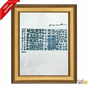 Flash November by Andy Warhol Original Hand Signed Print with COA $95.99