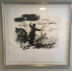 SUSAN ROTHENSBURG Signed Limited Edition LITHOGRAPH 1985 Numbered THE CONDUCTOR $850.00