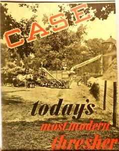 CASE today#x27;s most modern thresher early 1900#x27;s $5.99