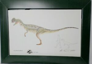 Jurassic Park Limited Ed 9 Large Dinosaur Lithographic Prints Winston amp;McCreery $107.77