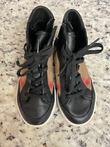 burberry kids shoes Size 1 $75.00