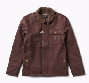 ROARK Axeman Brown JACKET Size Small