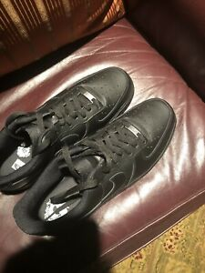 Nike Men's 07 Low Black Air Force 1s Size 13 $80.00