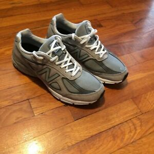 NEW BALANCE 990v4 Grey Mens Running Shoes Great Condition Size 12 $99.99