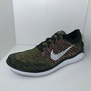 Nike Running Shoes Free RN Flyknit Back 942838 004 Mens Size 12 $89.95