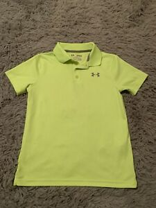 Boys Under Armour Youth Medium Loose Fit Heat Gear Shirt $4.50