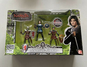 The Chronicles of Narnia Prince Caspian Heroes Of Narnia Figures Jakks Pacific GBP 45.00