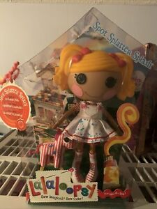 Original Spot Splatter Splash LalaLoopsy Large 12quot; FULL Doll New In Box