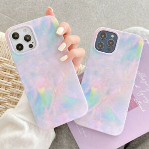 Tie dye Colorful Painting Soft Phone Case Cover For iPhone 12 Mini 11 Pro XS Max