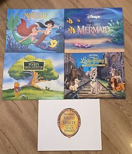 HUGE LITHOGRAPH DISNEY COLLECTION IN CARRYING CASE $700.00