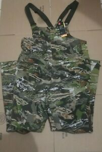 Under Armour Men Storm Mid Season Forest Camo Hunting Bib 1316872 940 New Size M