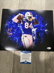 KYLE PITTS FLORIDA GATORS SIGNED 11x14 Photo Beckett WITNESS NFL Draft $99.99