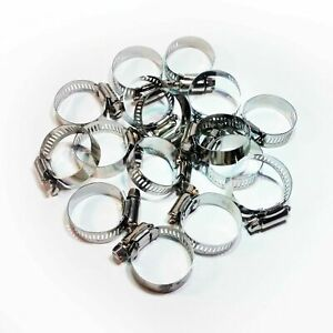 ALL SIZE Adjustable Hose Clamps Worm Gear Stainless Steel LIFE TIME WARRANTY