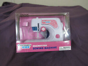 Discovery Kids Chainstitch Toy Sewing Machine For kids 6 Working $9.99