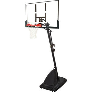 Outdoor Basketball Hoop Full System 54quot; Adjustable Backboard Portable Angle Pole $268.99