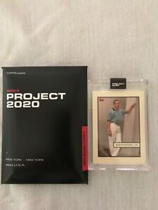 Topps Project 2020 Card #56 Mariano Rivera by Oldmanalan PR 1127 $195.00