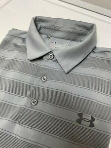 Under Armour Golf Polo Shirt Sz L $14.99