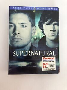 Supernatural: Season 2 DVD SAM amp; DEAN WINCHESTER SET 6 DVD's