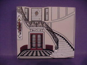 NEW CENTRAL CATHOLIC H S WOOD REPLICA RDG PA FAMOUS MARBLE STAIRCASE $14.50