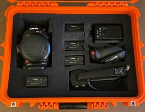 An aspiring Filmmakers Dream. Canon C100 MKII with accessories $2700.00