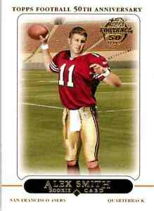Topps Football Anniversary Alex Smith 2005 #435 RC C $0.99
