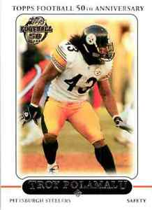 Topps Football Anniversary Troy Polamalu 2010 #174 C $0.99