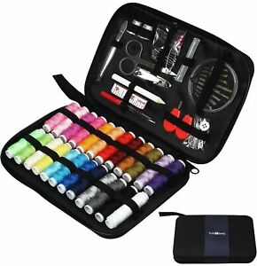 90Pcs Sewing Kit Multi Color Sewing Accessories w Scissor Needle Thread For Home $10.45